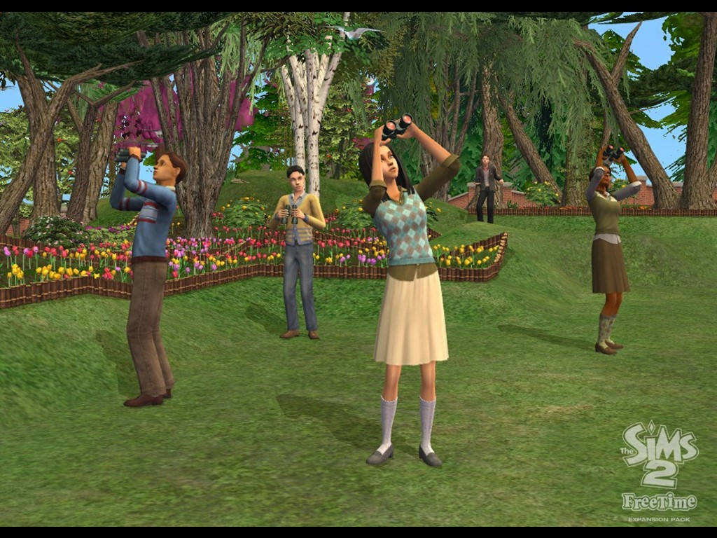 Games Wallpaper: The Sims 2 - Free Time