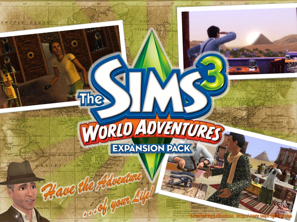 Games Wallpaper: The Sims 3 - World Adventures
