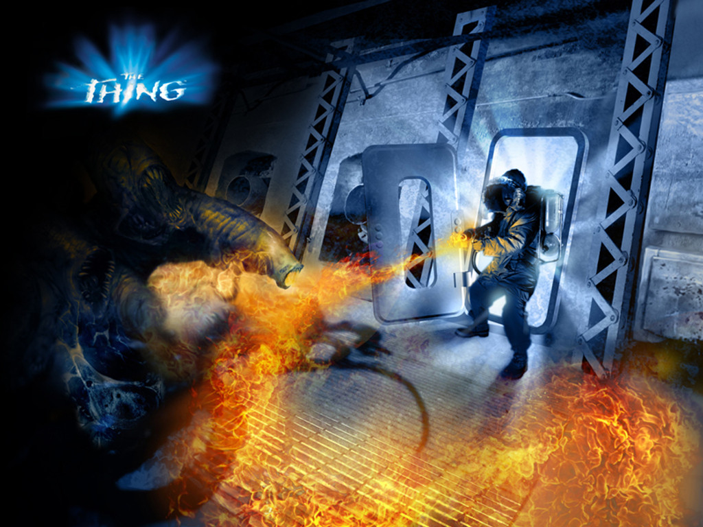 Games Wallpaper: The Thing