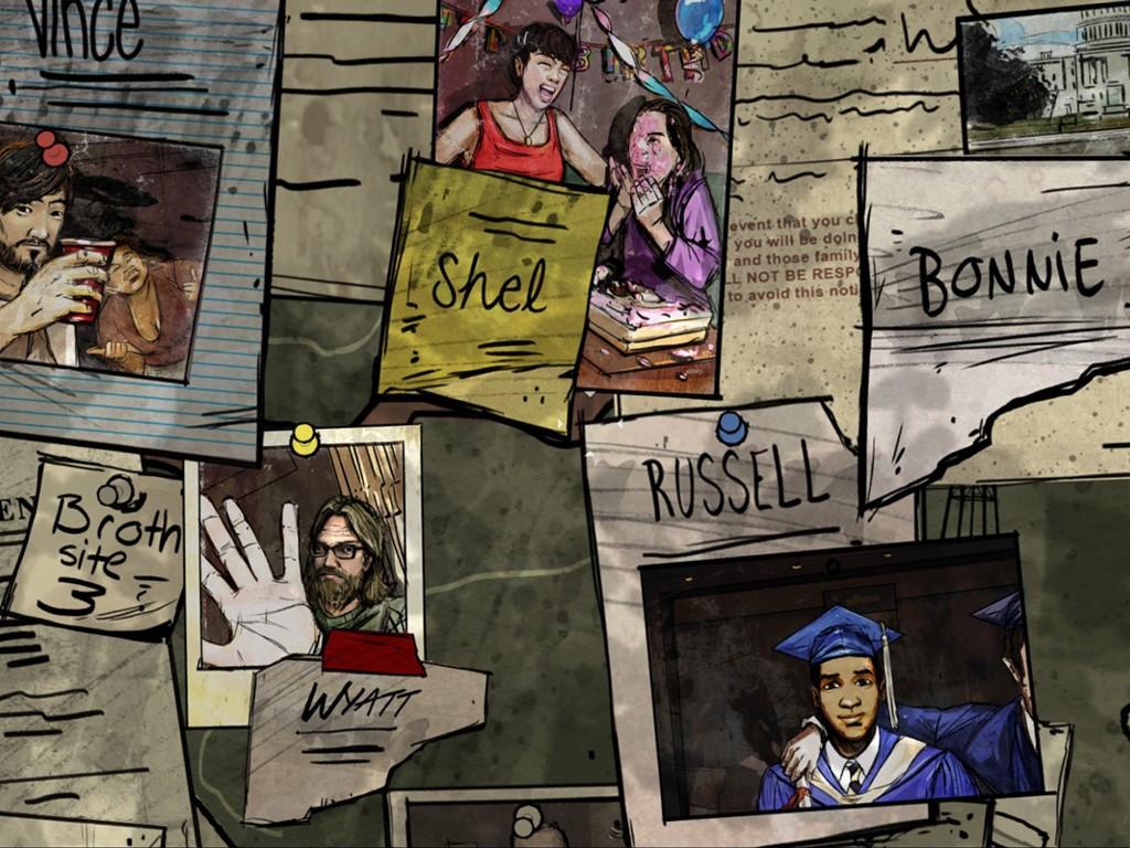 Games Wallpaper: The Walking Dead - 400 Days