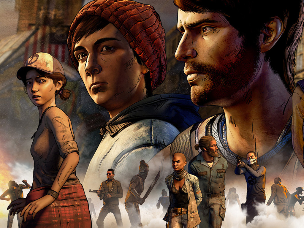 Games Wallpaper: The Walking Dead - A New Frontier