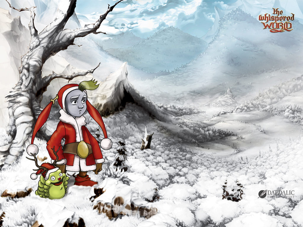 Games Wallpaper: The Whispered World - Christmas