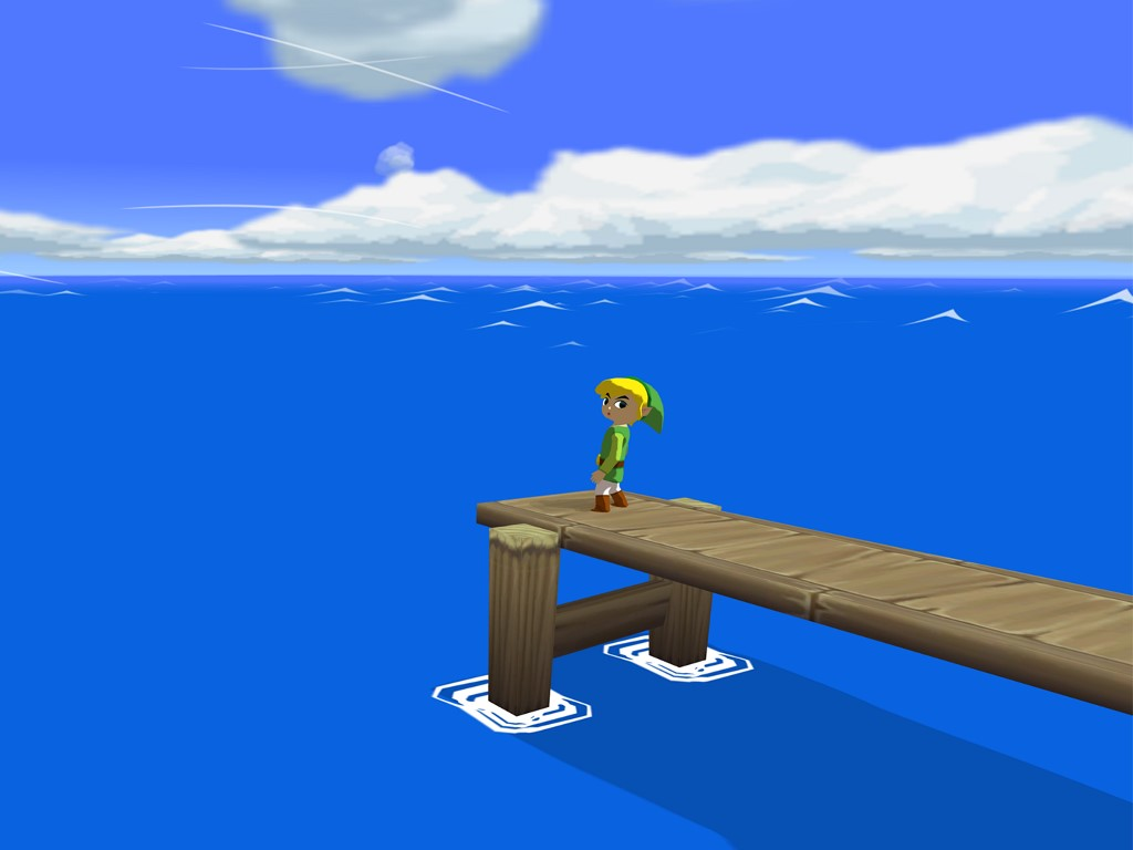 Games Wallpaper: The Wind Waker