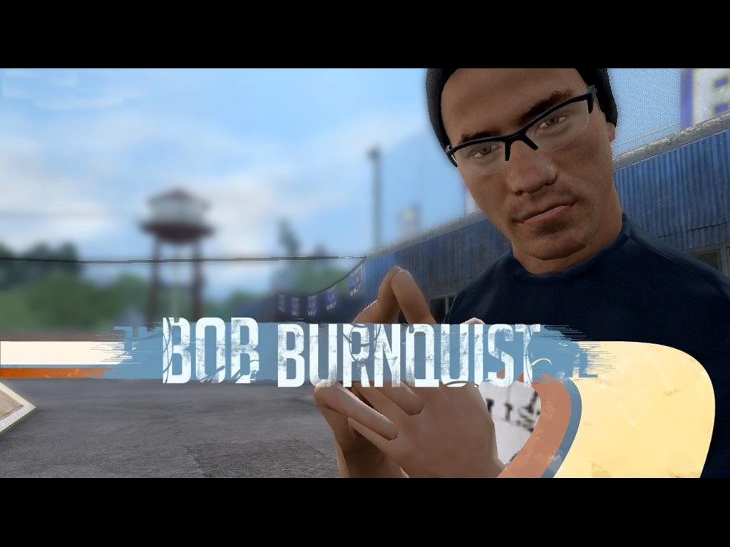 Games Wallpaper: Tony Hawk Project 8 - Bob Burnquist