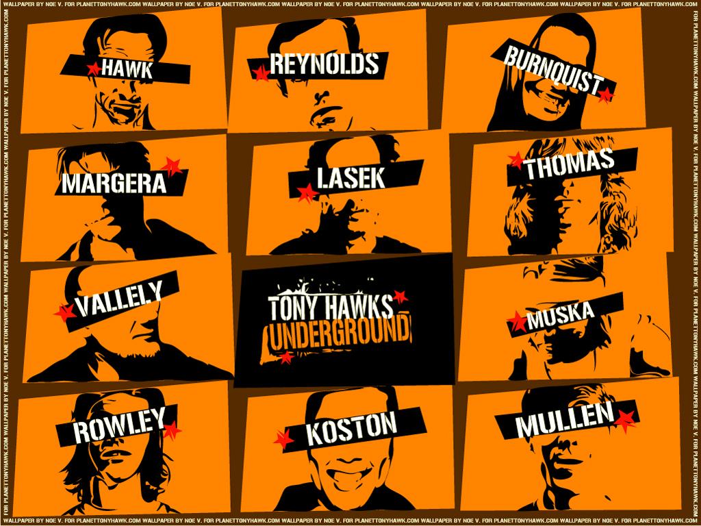 Games Wallpaper: THUG - Tony Hawk's Underground