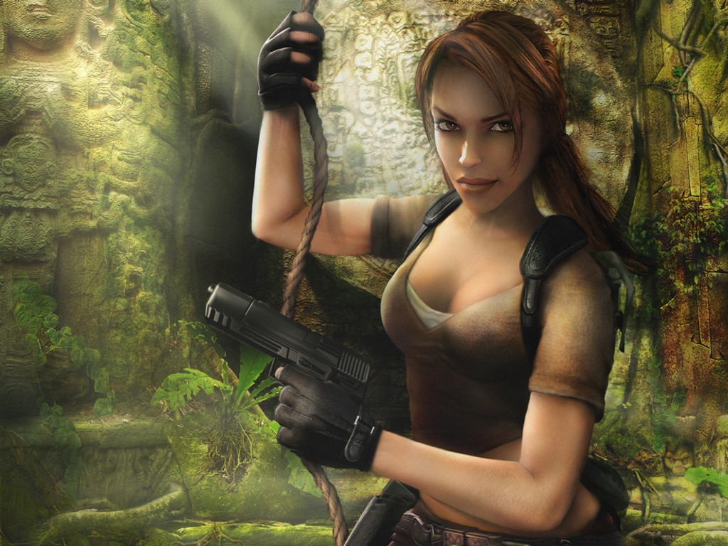 Games Wallpaper: Tomb Raider - Legend