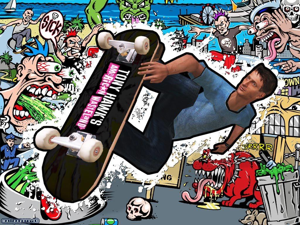 Games Wallpaper: Tony Hawk American Wasteland