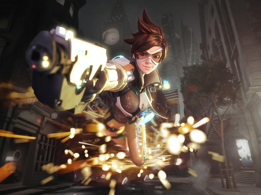 Games Wallpaper: Overwatch - Tracer