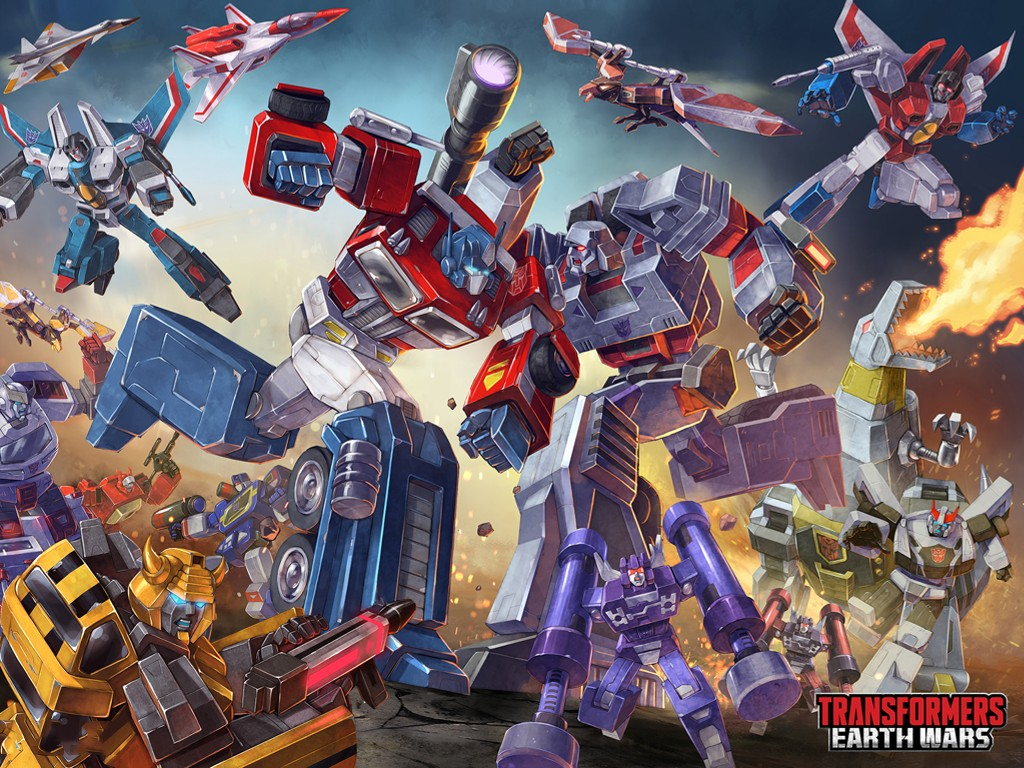Games Wallpaper: Transformers - Earth Wars