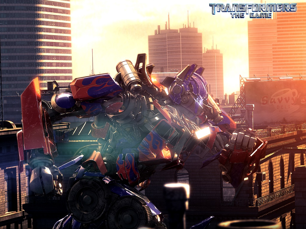 Games Wallpaper: Transformers - The Game