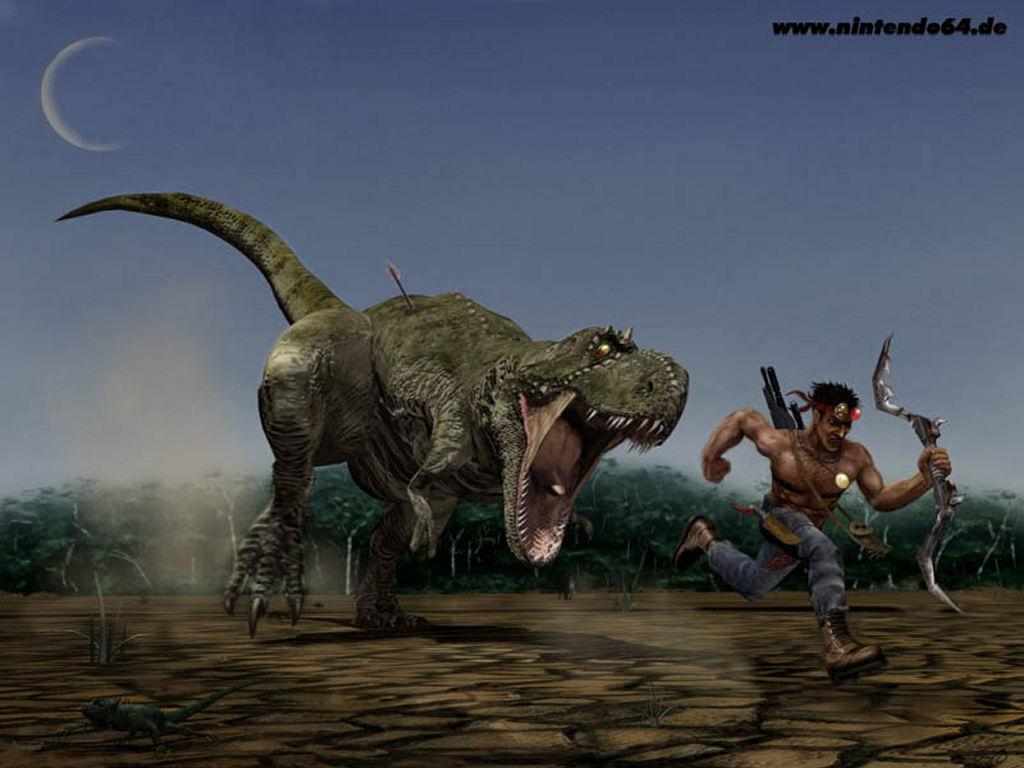 Games Wallpaper: Turok Dinosaur Hunter