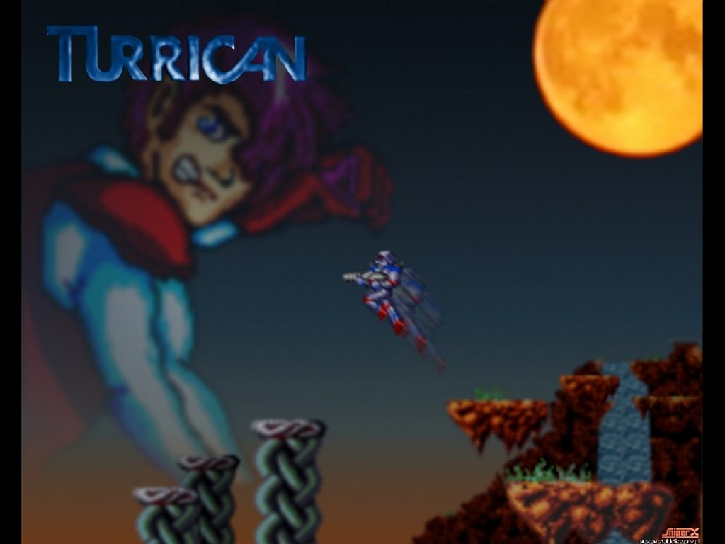 Games Wallpaper: Turrican (by Sniper)