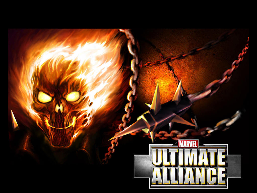 Games Wallpaper: Ultimate Alliance - Ghost Rider