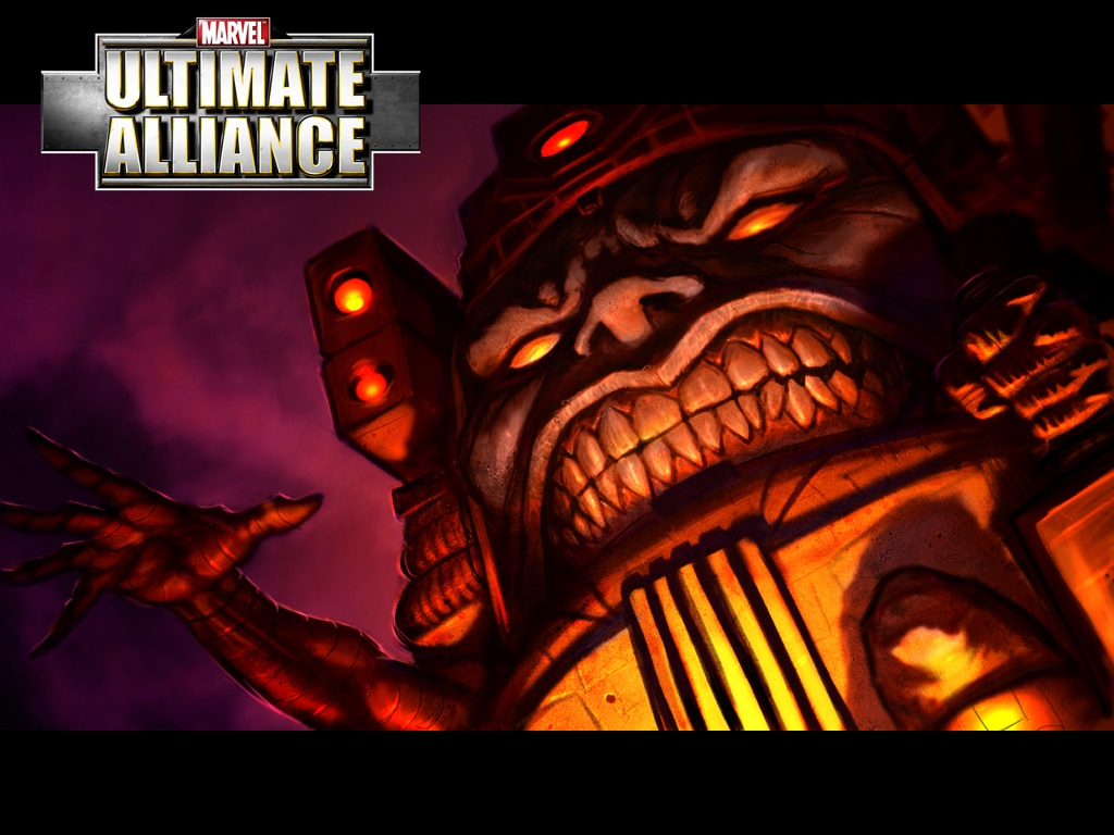 Games Wallpaper: Ultimate Alliance - M.O.D.O.K.