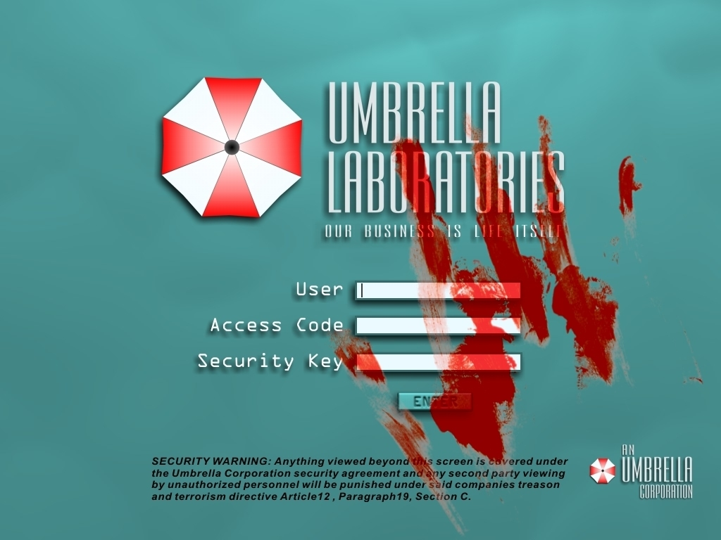 Games Wallpaper: Resident Evil - Umbrella