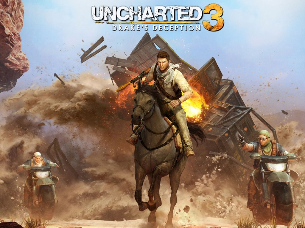 Games Wallpaper: Uncharted 3 - Drake's Deception