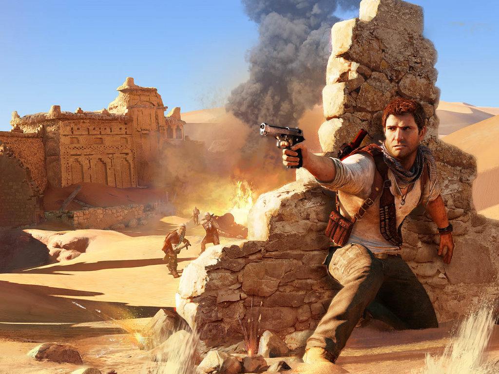 Games Wallpaper: Uncharted 3