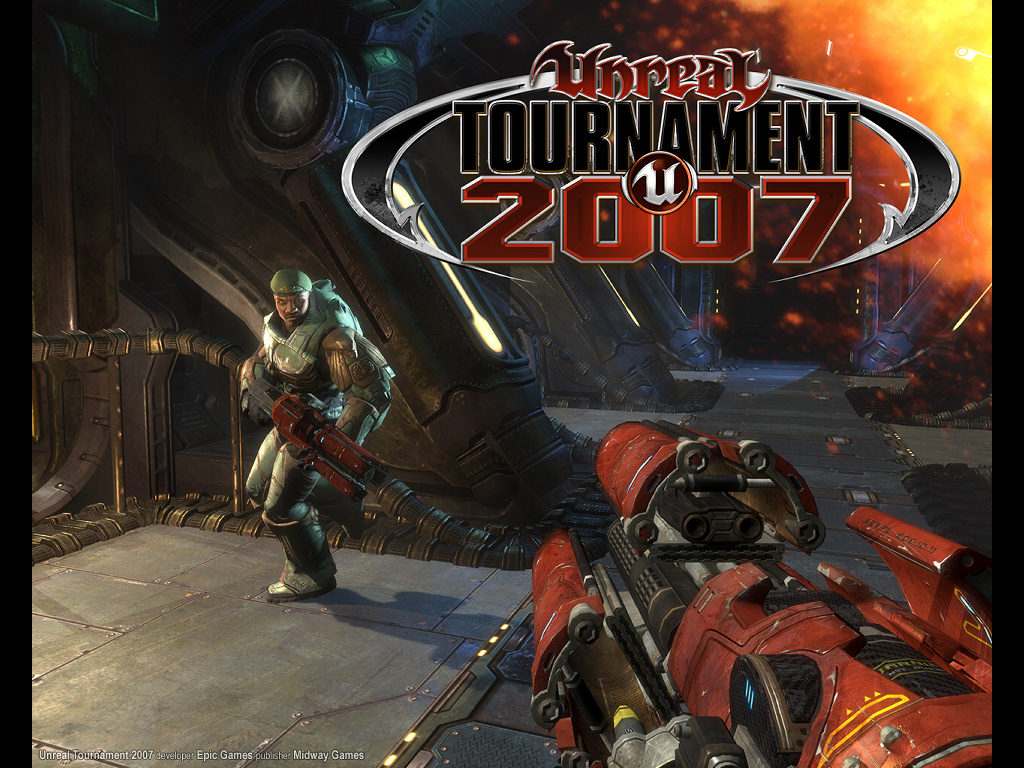 Games Wallpaper: Unreal Tournament 2007