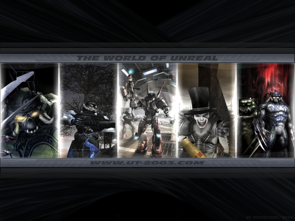Games Wallpaper: Unreal Tournament 2003 - The World of Unreal