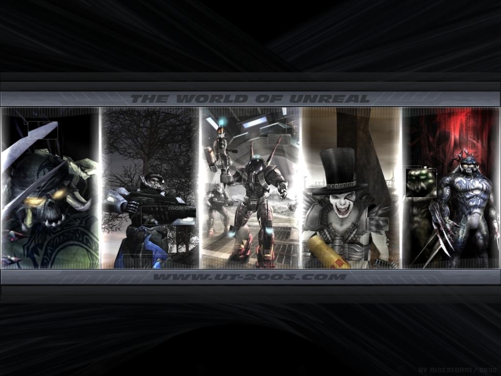 Papel de Parede Gratuito de Jogos : Unreal Tournament 2003 - The World of Unreal