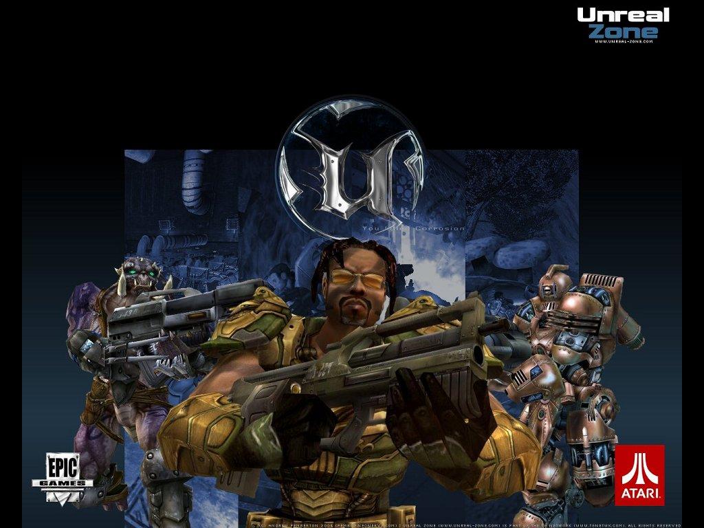 Games Wallpaper: UT 2004 - Unreal Zone