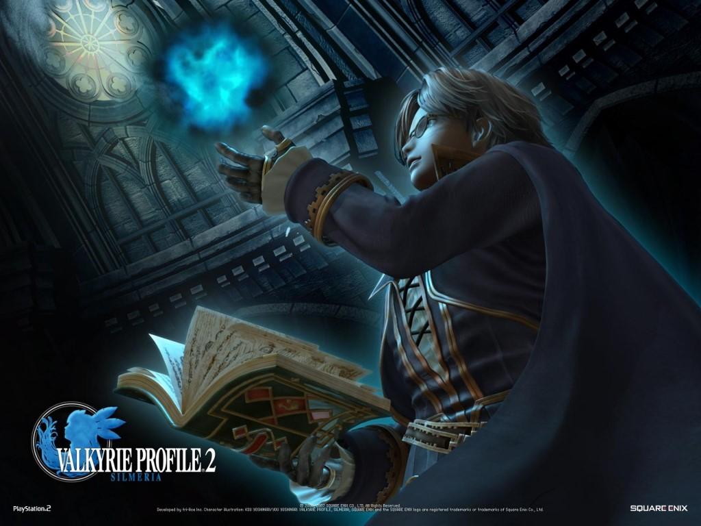 Games Wallpaper: Valkyrie Profile 2 - Silmeria