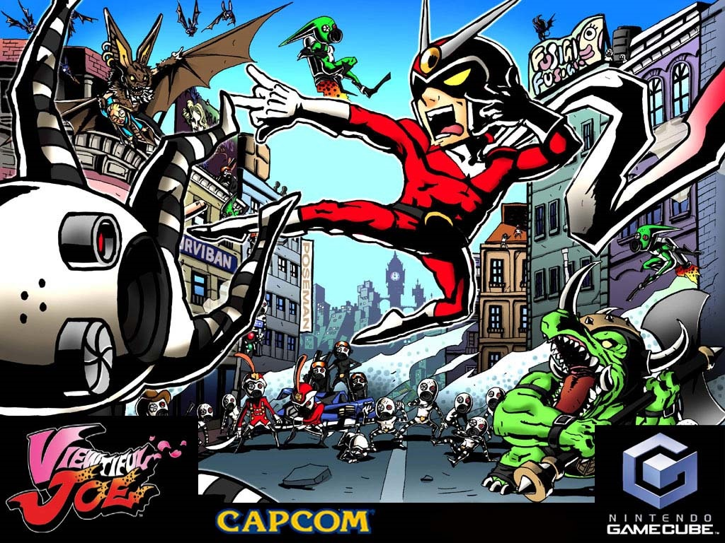 Games Wallpaper: Viewtiful Joe