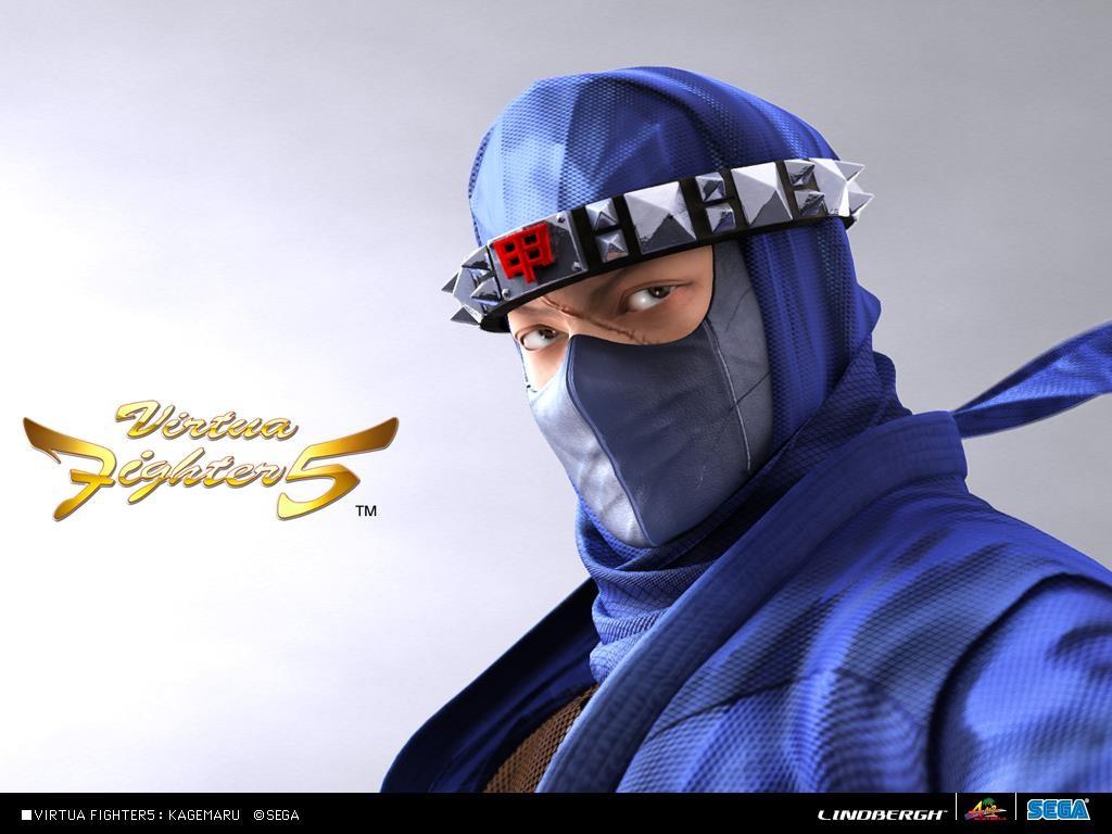 Games Wallpaper: Virtua Fighter 5 - Kagemaru