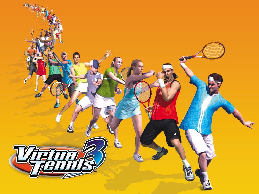 Games Wallpaper: Virtua Tennis 3