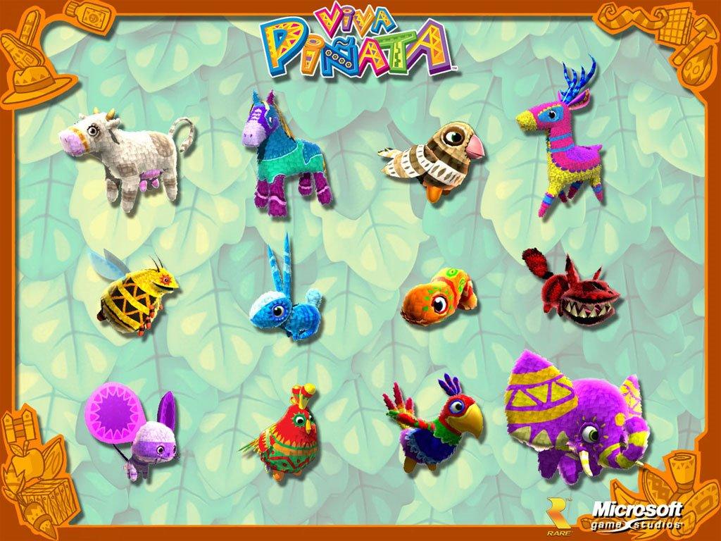 Games Wallpaper: Viva Piñata
