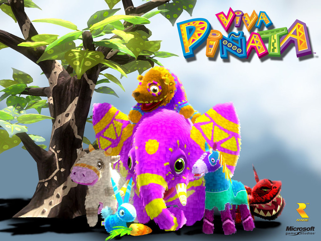 Games Wallpaper: Viva Pinata