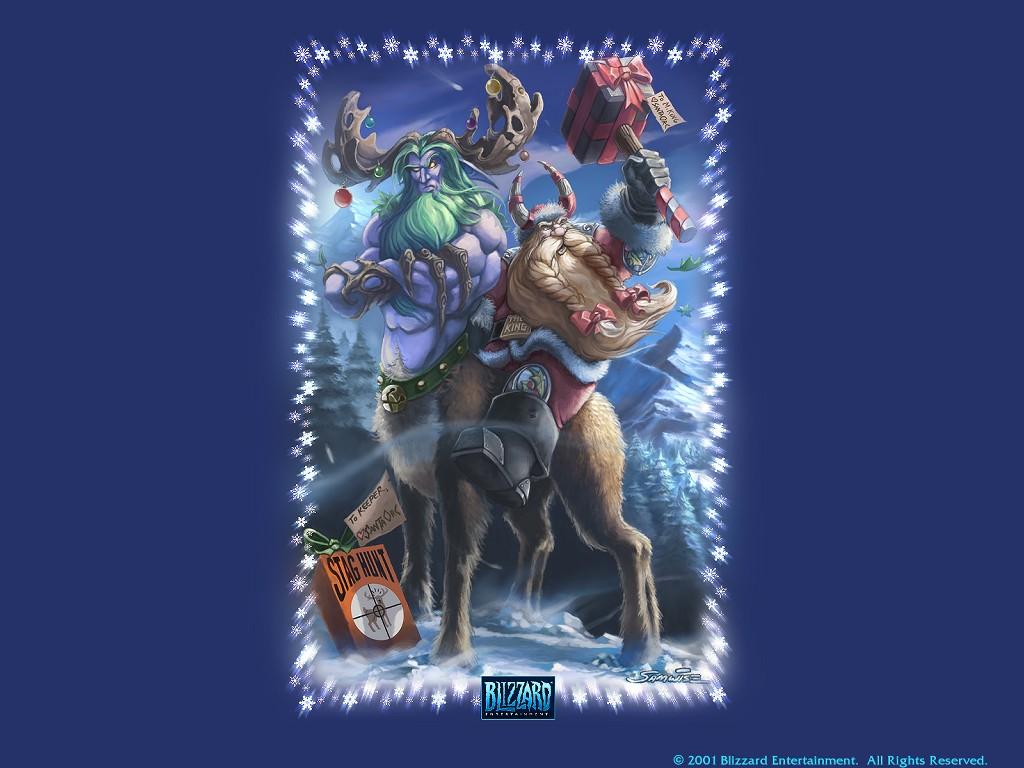 Games Wallpaper: Warcraft - Christmas