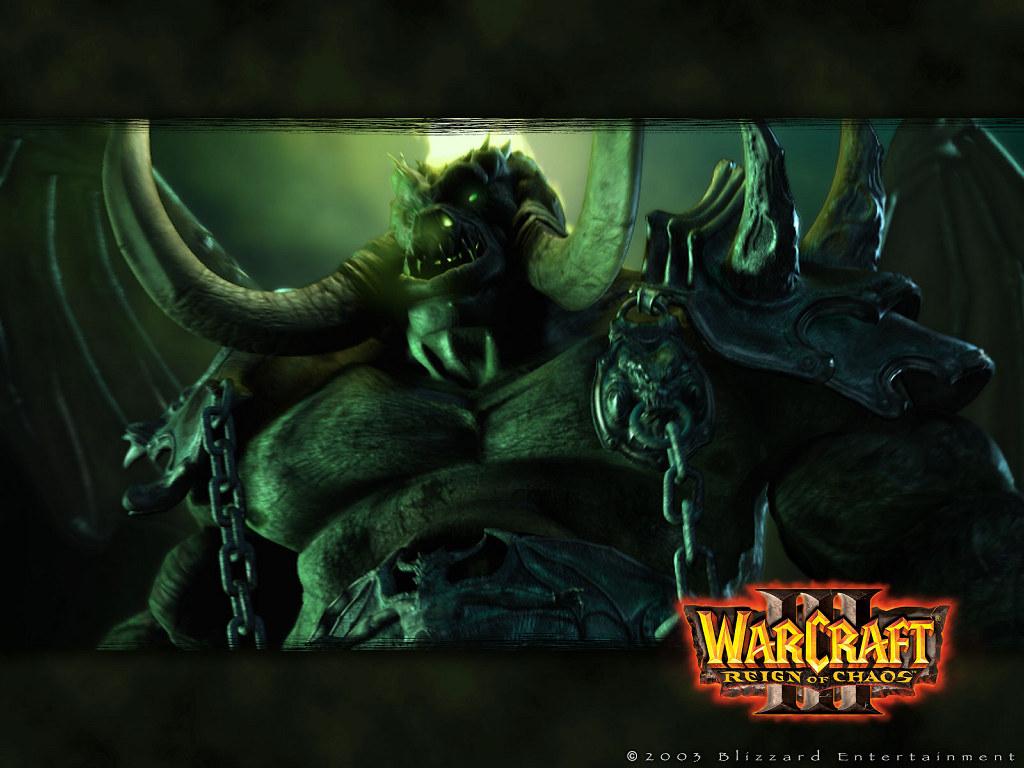 Games Wallpaper: Warcraft III - Mannaroth