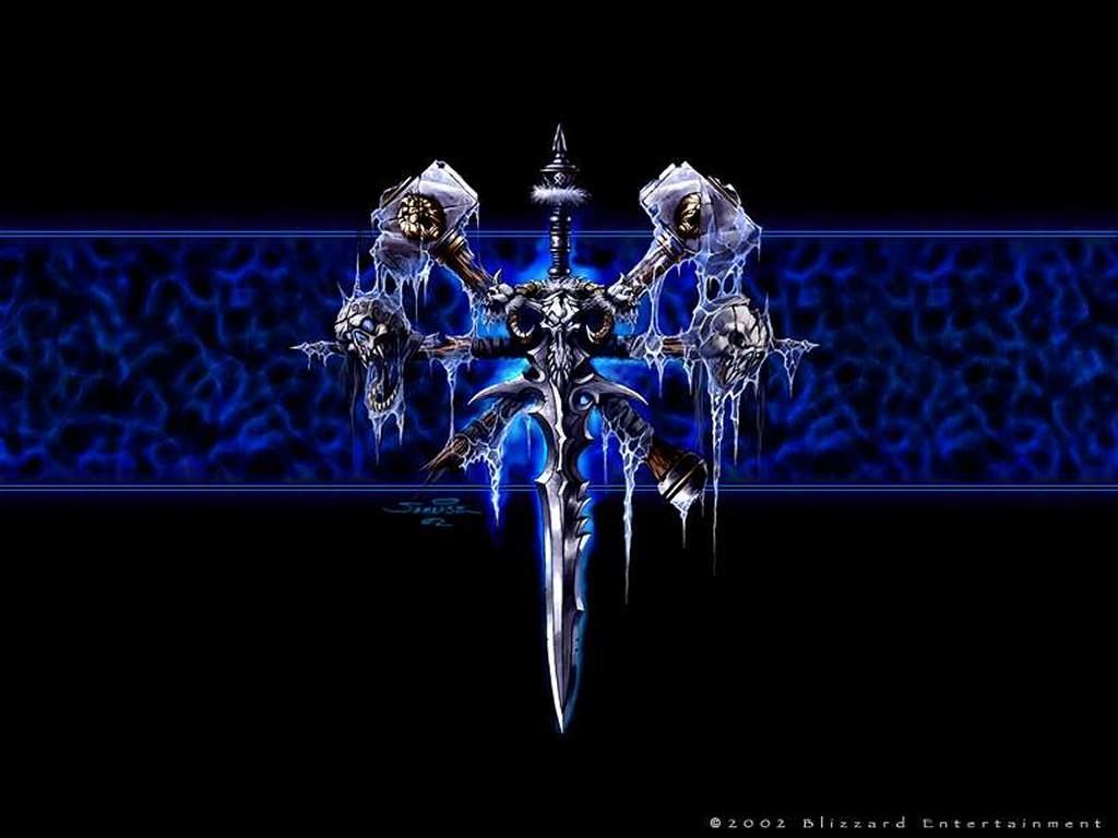 Games Wallpaper: Warcraft 3 - Undead Shield