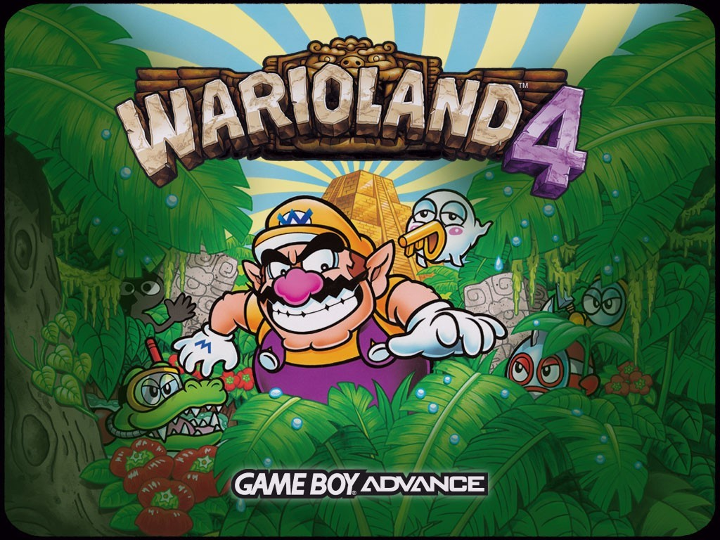 Games Wallpaper: Warioland 4