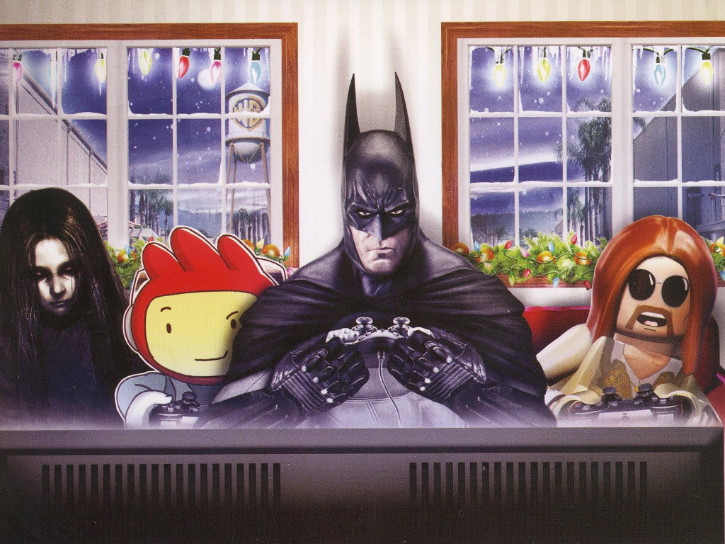 Games Wallpaper: Warner Games - Christmas Card