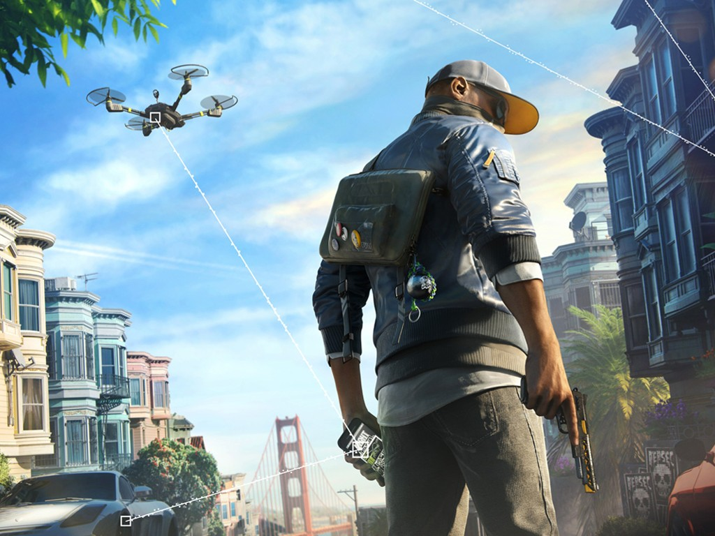 Games Wallpaper: Watch Dogs 2