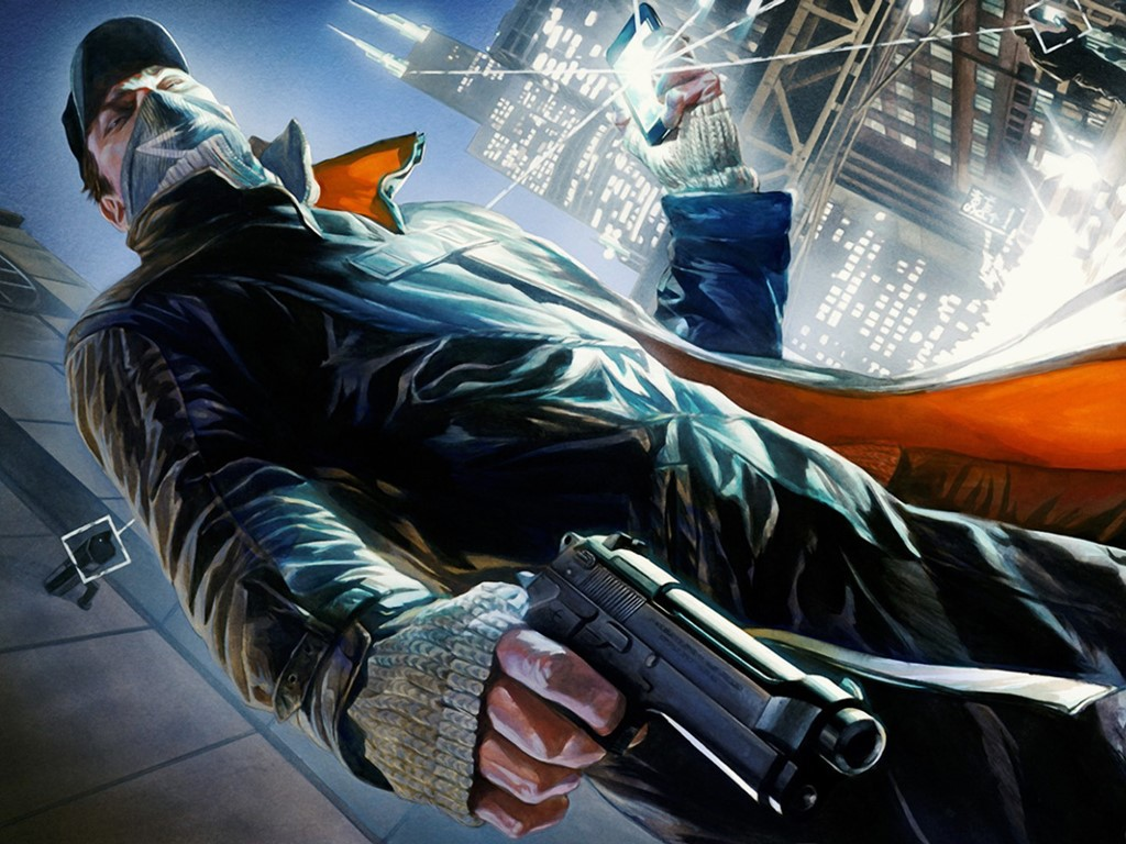 Games Wallpaper: Watch Dogs (by Alex Ross)