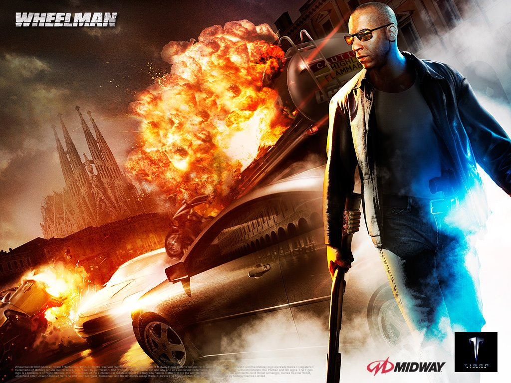 Games Wallpaper: Wheelman