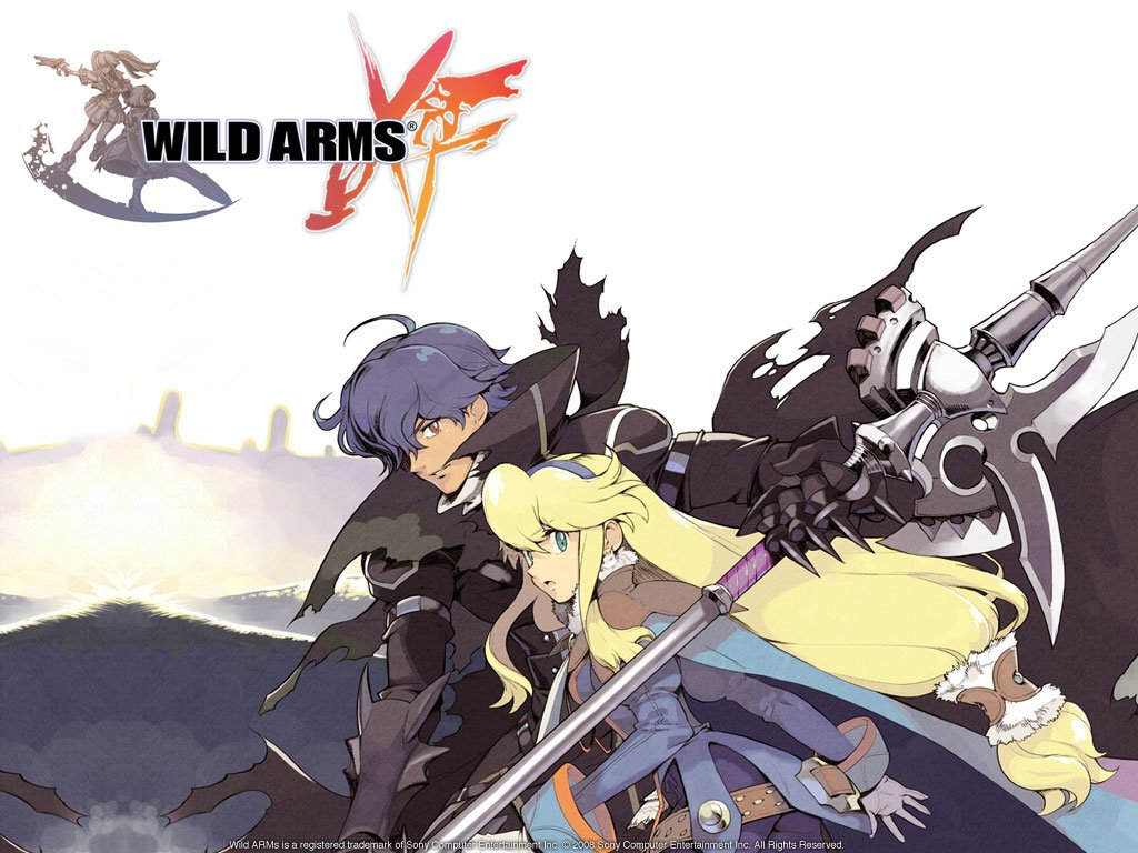 Games Wallpaper: Wild Arms XF