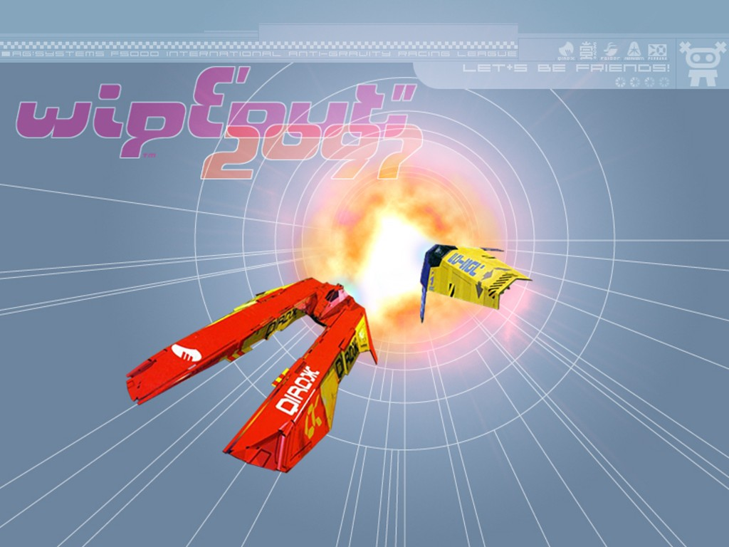 Games Wallpaper: Wipeout 2097