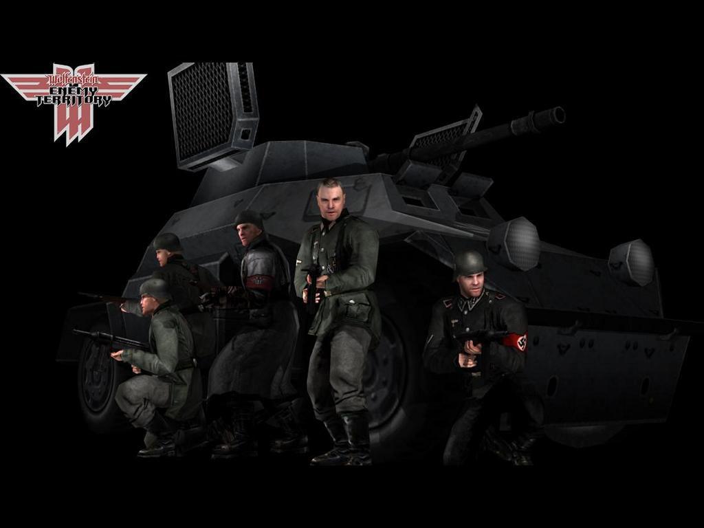 Games Wallpaper: Wolfenstein - Enemy Territory