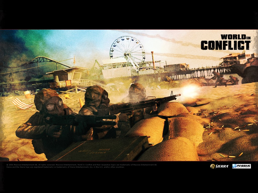 Games Wallpaper: World in Conflict