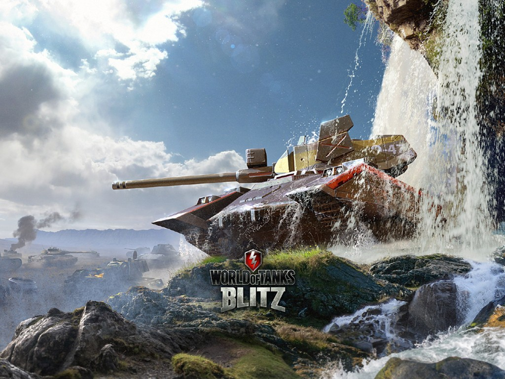 Games Wallpaper: World of Tanks Blitz