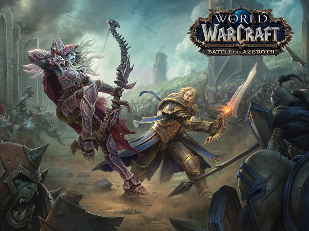 Games Wallpaper: World of Warcraft - Battle for Azeroth