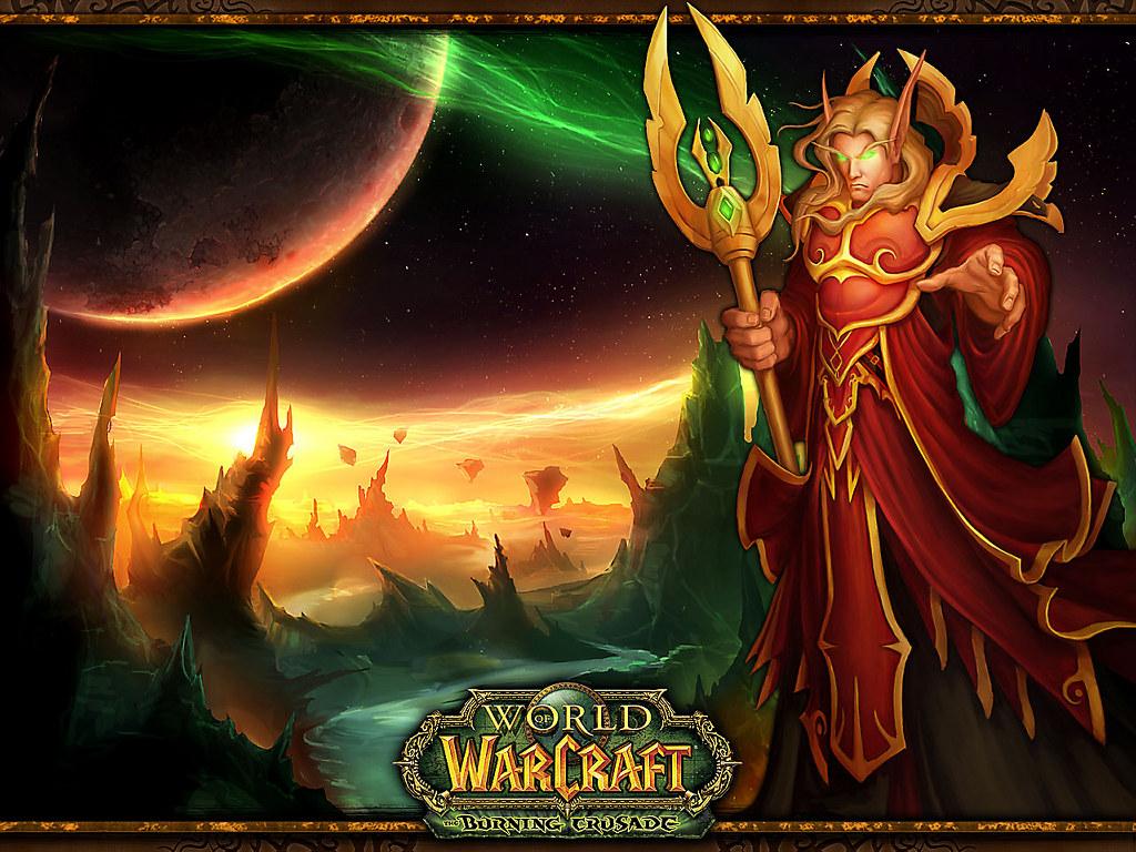 Games Wallpaper: World of Warcraft - Burning Crusade