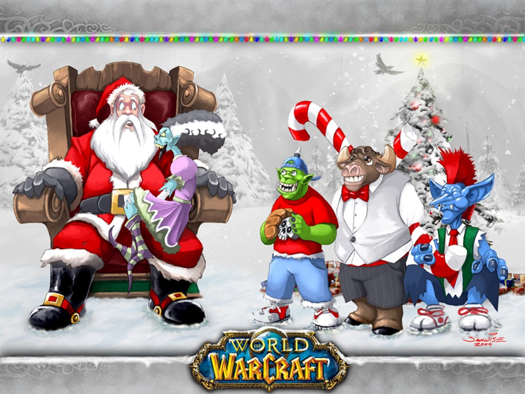 Games Wallpaper: World of Warcraft - Christmas