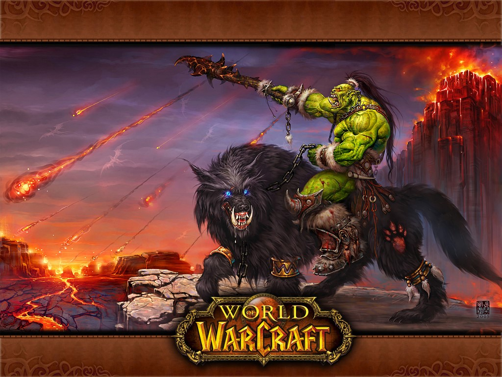 Games Wallpaper: World of Warcraft - Mount