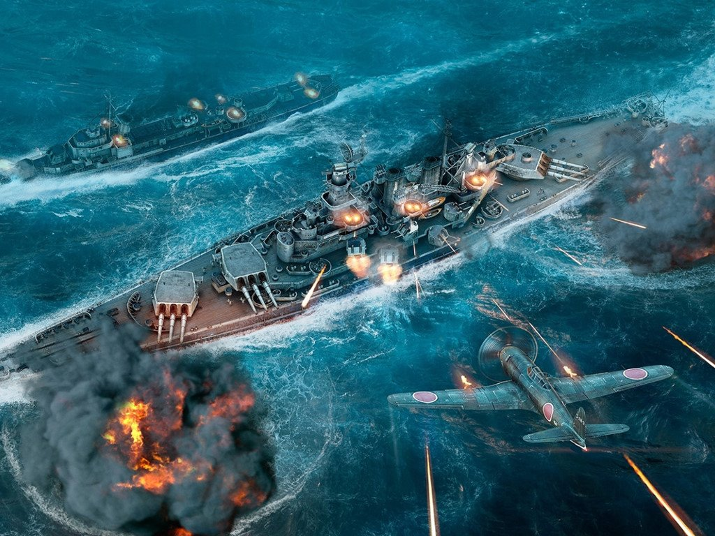 Games Wallpaper: World of Warships
