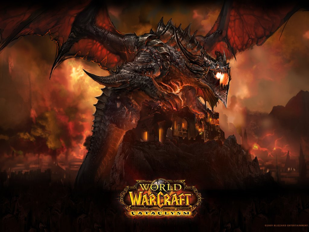 Games Wallpaper: World of Warcraft - Deathwing